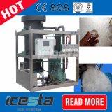 Limpe o tubo comestíveis e máquina de gelo 10toneladas
