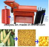Sheller combinado do milho do milho que Threshing e que descasca a máquina de processamento