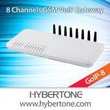 8 ports VoIP GSM Gateway pour la terminaison des appels VoIP (RAOG-8)