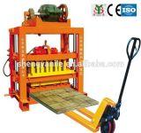 Faible coût de la machinerie de brique Qtj4-40 machine à fabriquer des briques creuses en béton