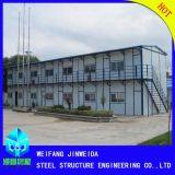 Structure en acier préfabriqués matériel bon marché avec tôle galvanisée