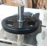 Placa redonda preta excelente do peso (SA15)