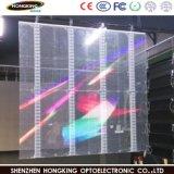 Affichage LED P7.8 l'intérieur de la publicité avec transparent