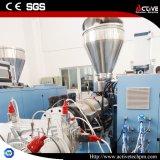 Doppelschrauben-Rohr-Strangpresßling-Zeile mit dem Vakuumkalibrierungs-Spray-Abkühlen