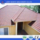 Tuile de toit enduite en métal de pierre colorée de bonne qualité de type romain