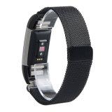 Замена магнитного петлю ремешка антистатический браслет из нержавеющей стали для зарядки Fitbit 2