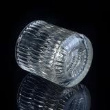 Suportes de vela de vidro luxuosos para velas de Secent