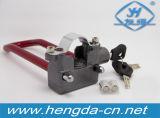 Fechamento elétrico da inserção do fechamento da forma do cadeado U do alarme da bicicleta (YH1258)