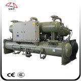 Acondicionador de aire refrigerado por agua de la pompa de calor del refrigerador de agua del refrigerador del tornillo de la serie de Pcwf