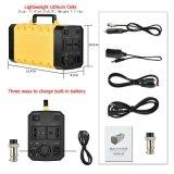 Carregador e saída portáteis da entrada de C.C. do sistema C.A. da potência móvel solar da HOME do carro do UPS