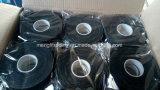 Nastro nero adesivo del cotone della fibra di elettronica dell'isolamento all'ingrosso di sicurezza