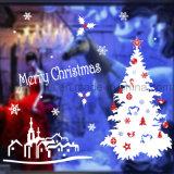 [مرّي كريستمس] نافذة لاصق قابل للنقل عيد ميلاد المسيح [غلسّ ويندوو] لاصق