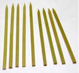 OPP 포장 (BC-BS004)를 가진 자연적인 대나무 물자 편평한 과일 대나무 꼬치