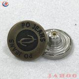 Preço de fabricar o logotipo personalizado exclusivo botão de jeans de Metal