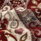 Ткань софы синеля полиэфира 100 материальная двойная для драпирования