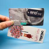 Etiqueta de vestuário UHF RFID personalizada