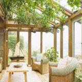 Châssis en alliage aluminium Heph matériel et le jardin du toit en verre trempé Conservatory Sun chambre