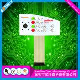 La poly eau tactile faite sur commande de contact doux de dôme résistent à la touche à effleurement de contrôle