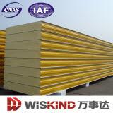 La SGS matériaux décoratifs panneau sandwich polyuréthane pour l'acier de construction de structures
