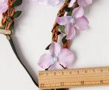 ボヘミア様式の花輪の花の王冠の結婚式の花輪の額の毛ヘッド浜の花輪