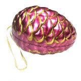 Contenitore impaccante di stagno dell'uovo di Pasqua di figura del regalo materiale ambientale del cioccolato