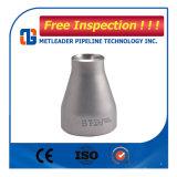 Autógena de tope que ajusta el reductor excéntrico ASTM A403 A403m Wp304 8 '' Sch40 ASME B16.9 del reductor concéntrico del acero inoxidable