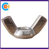 En acier au carbone aile de l'écrou de blocage M6 Les écrous à ailettes de l'écrou papillon