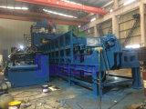 Placa de tubo de acero reforzado Máquina de cortar un trozo de metal