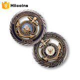 공장 직접 판매 금속 동전 고품질 동전과 주문 도전 동전