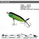 Attrait en plastique de flottement de pêche de vairon dur personnalisé par Pr-Ls126