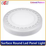 Круглый двойной цвет 6+3W/9+3W/12+3W/18+6Вт Светодиодные панели светодиодные индикаторы на панели управления