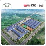Niedrige Kosten-Licht-Stahlkonstruktion-Rahmen-modulares Lager-Ausgangsvorfabrizierthaus für Arbeitskraft Domitory Gebäude/bewegliches Büro