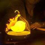 Van de LEIDENE van Birdcage Licht van de Slaap van de Sensor Aanraking van de Nacht het Lichte Navulbare Schemerigere