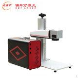 Máquina portátil quente da marcação do laser da fibra do preço de venda para o aço inoxidável//ABS/Pes/PVC plástico