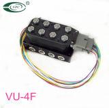 """공기 Ride Suspension Valve Vu4 Air Bag Valve Brass 10mm (3/8 """") Orifice 200psi 8 Cyl 공기 Engine Manifold Block Valve"""