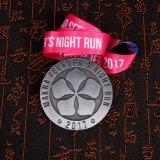 밤 실행 메달 리본 메달을 주문 설계하십시오