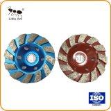 대리석에게 화강암 갈기를 위한 중국 좋은 품질 다이아몬드 컵 바퀴
