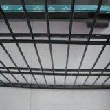 Cerca de alambre doble revestida galvanizada sumergida caliente de 868 PVC