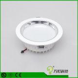 preço de fábrica 3/6/12W LED do painel do teto rebaixado para alojamento de iluminação de luz descendente