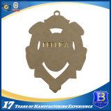 Kundenspezifisches Metallglänzende Goldende-Medaille für Ehre