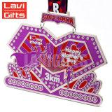 Promoción barata recuerdo Premio Medalla de Santa Claus personalizados de Navidad