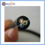 2 conducteurs câble flexible en caoutchouc 4 Core câble flexible en caoutchouc