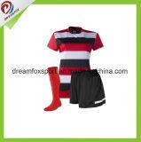 людей рубашки футбола сублимации высокого качества формы футбола Breathable изготовленный на заказ