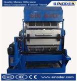 Kleine Maschine, die Ei-Tellersegment-Ei-Maschinen-Tellersegment-Ei-Tellersegment-maschinell bearbeitenmaschine herstellt