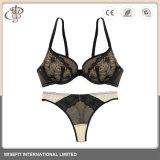 Diseño Venta al por mayor sexy señoras Panty Bra Set