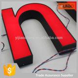 Lettere acriliche della Manica di Frontlit LED con vinile