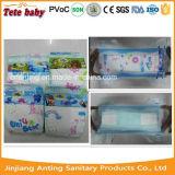 Absorção respirável macia e tipo descartável fábrica do tecido dos tecidos do bebê em China