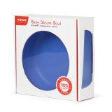 FDA Aproved прочный силикон детей посуда чашу с большими шарнирного присоса