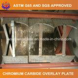 Сварка Hardfaced износной пластины для алюминиевый завод