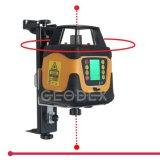 Nível Automático de Nível de Laser Rotativo Autonivelante com Visor LCD (400HV Vermelho / Verde 400HVG)